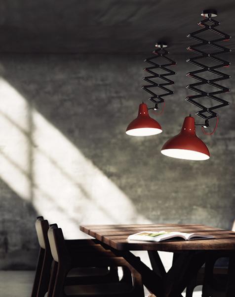 Eine Vorschau auf: Light + Building 2016 in Frankfurt  Eine Vorschau auf: Light + Building 2016 in Frankfurt diana hanging dining flexible fixture 01