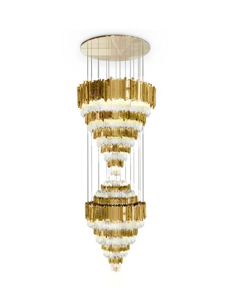 Eine Vorschau auf: Light + Building 2016 in Frankfurt  Eine Vorschau auf: Light + Building 2016 in Frankfurt empire xl chandelier 01