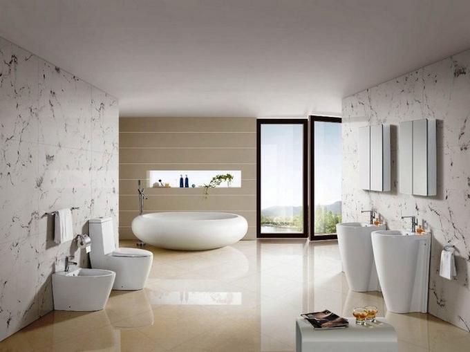Weiße moderne Badezimmergestaltung  20 Schöne Badezimmergestaltung 20 Sch  ne Badezimmergestaltung 15