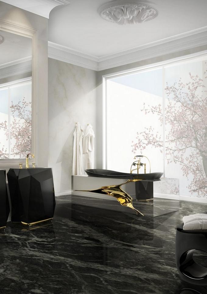 Schwarze moderne Badezimmergestaltung  20 Schöne Badezimmergestaltung 20 Sch  ne Badezimmergestaltung 3