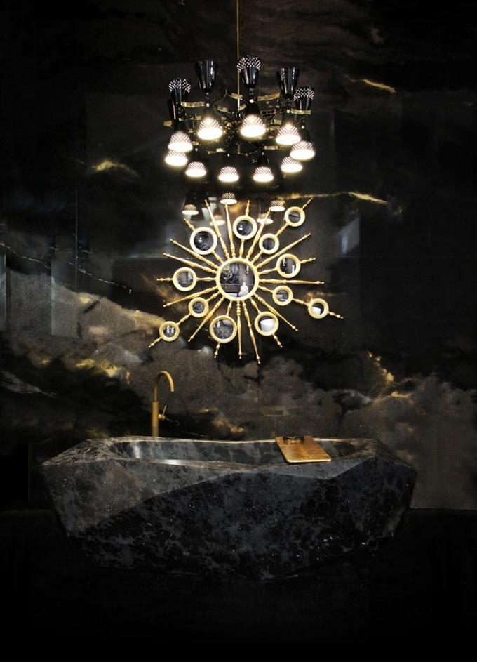 Schwarze moderne Badezimmergestaltung  20 Schöne Badezimmergestaltung 20 Sch  ne Badezimmergestaltung 4