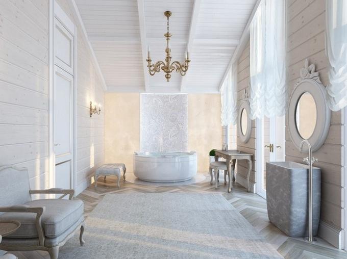 Weiße Klassische Badezimmergestaltung  20 Schöne Badezimmergestaltung 20 Sch  ne Badezimmergestaltung 51