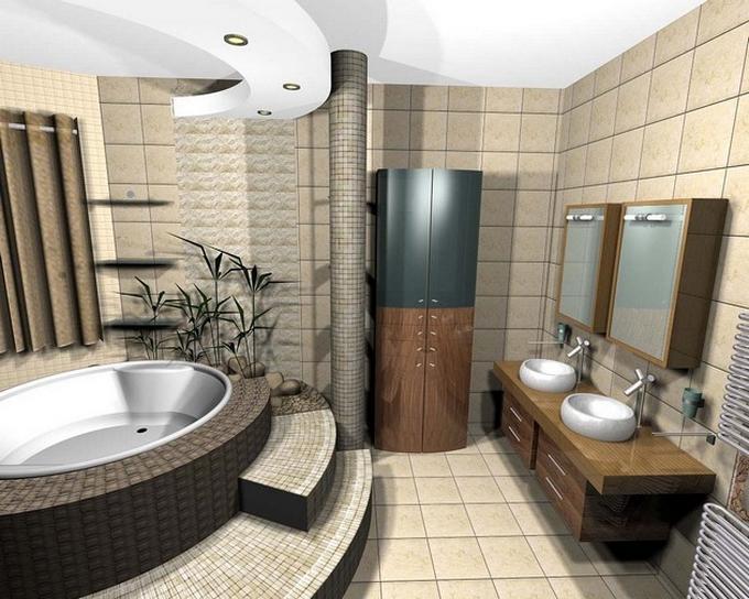 Schwarze moderne Badezimmergestaltung  20 Schöne Badezimmergestaltung 20 Sch  ne Badezimmergestaltung 6