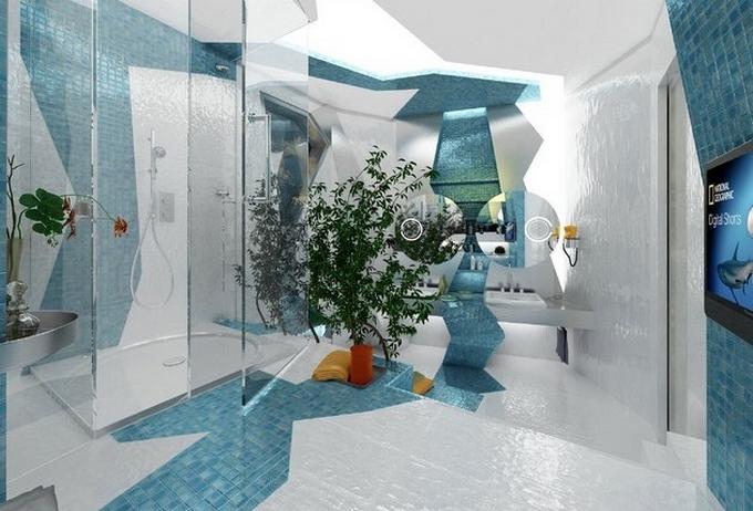 Weiße moderne Badezimmergestaltung  20 Schöne Badezimmergestaltung 20 Sch  ne Badezimmergestaltung 62