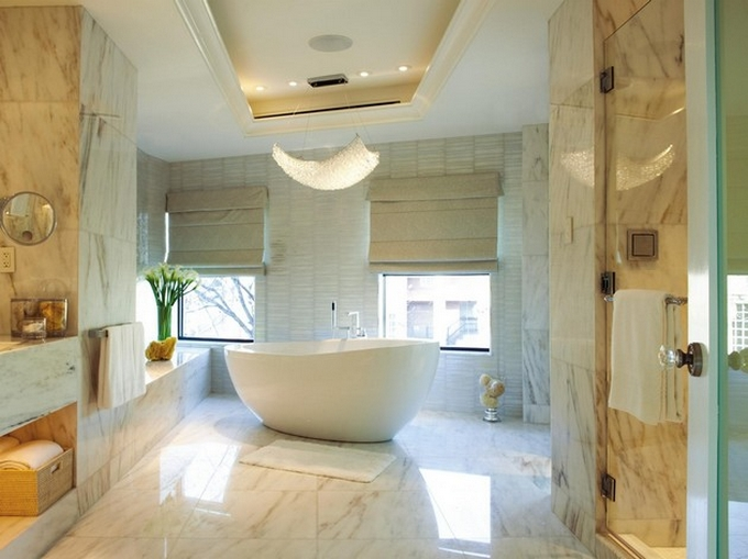 Weiße moderne Badezimmergestaltung  20 Schöne Badezimmergestaltung 20 Sch  ne Badezimmergestaltung 72
