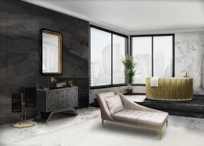 Schwarze moderne Badezimmergestaltung  20 Schöne Badezimmergestaltung 20 Sch  ne Badezimmergestaltung 9