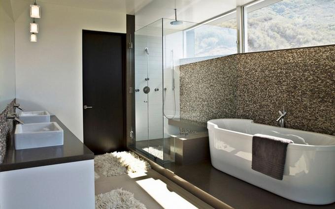 Weiße moderne Badezimmergestaltung  20 Schöne Badezimmergestaltung 20 Sch  ne Badezimmergestaltung 91