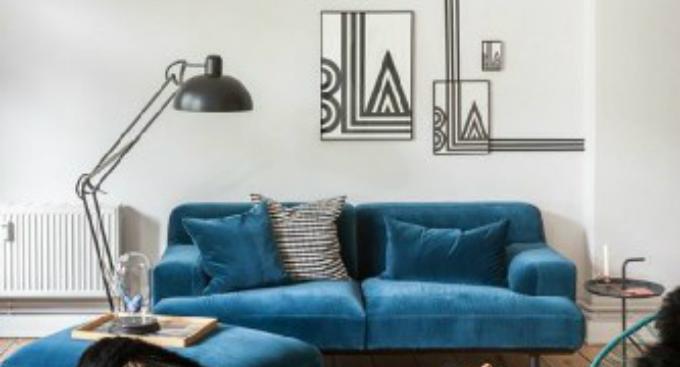 2  Vintage Stehleuchten – 10 Wohnzimmer Ideen 22