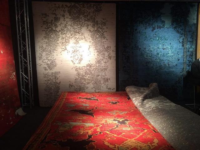Wohnen & Interieur Wien bringt Frühling Trends 2016  Wohnen & Interieur Wien bringt Frühling Trends 2016 Hand knotted carpets2