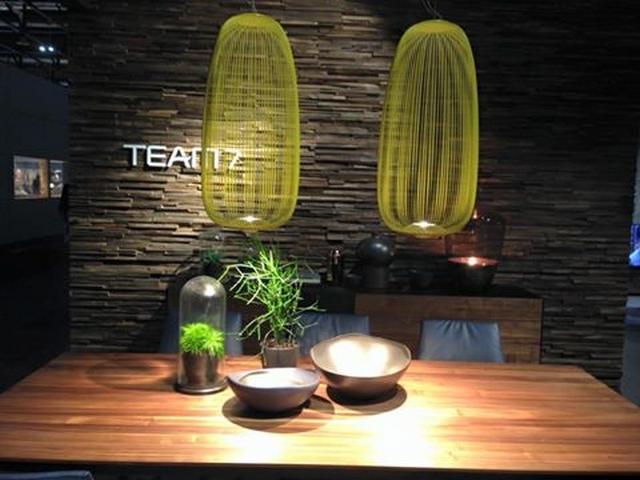 Wohnen & Interieur Wien bringt Frühling Trends 2016  Wohnen & Interieur Wien bringt Frühling Trends 2016 Natural wood furniture in elegant design