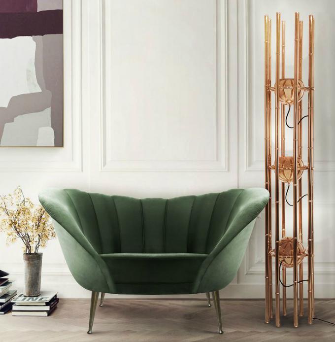 vintage stehleuchten 10 wohnzimmer ideen wohnen mit klassikern. Black Bedroom Furniture Sets. Home Design Ideas