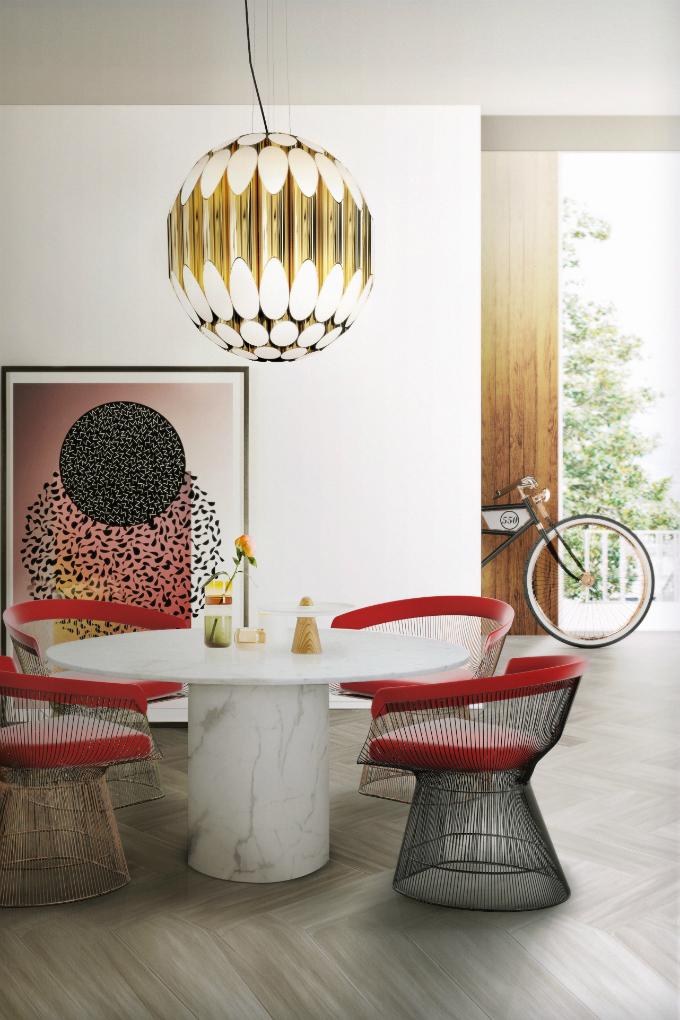 8  Esszimmer – Farbe und Möbel die diesen Frühling für Ambiente sorgen 8