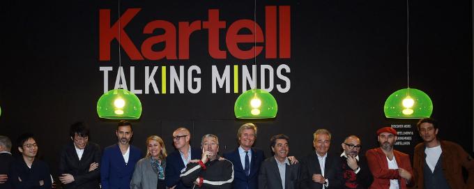 Kartell talking minds bei salone del mobile 2016 wohnen for Kartell salone del mobile 2016