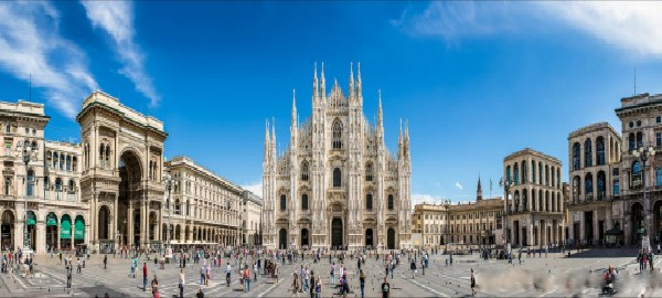 Teuersten Lokale zu besuchen in Mailand während Salone del Mobile Teuersten Lokale zu besuchen in Mailand wa  hrend Salone del Mobile duomo pano 600x270