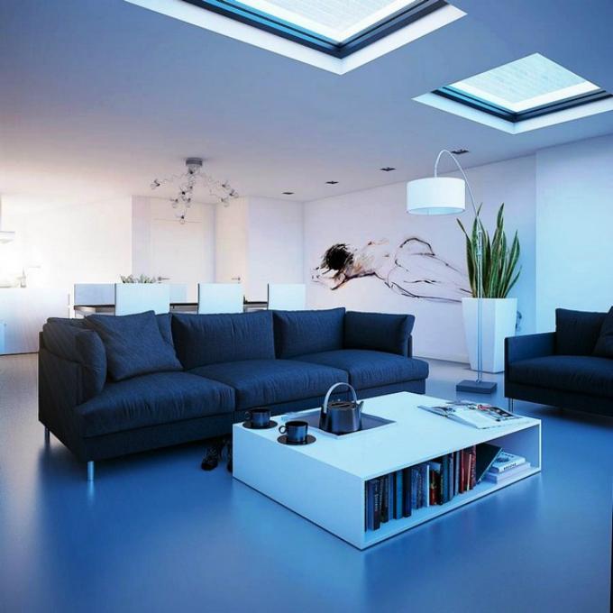 Wohnzimmer mit blaue Töne – Neue Trends_1  Wohnzimmer mit blaue Töne – Neue Trends Wohnzimmer mit blaue To  ne     Neue Trends 1