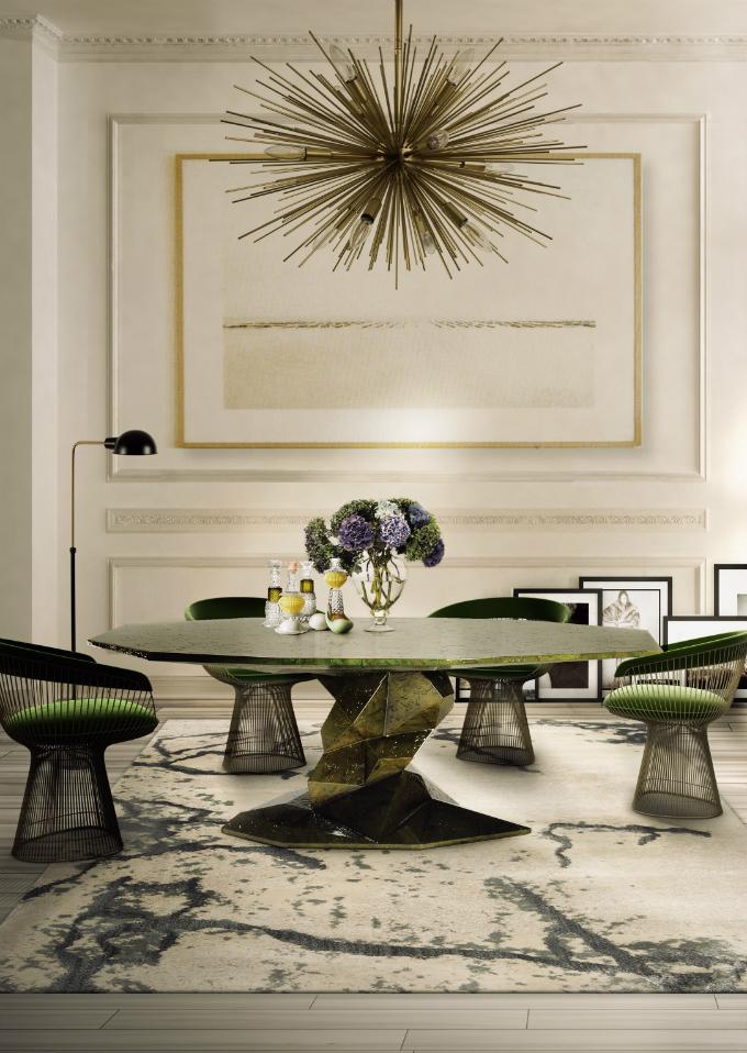 Esszimmer – Farbe und Möbel die diesen Frühling für Ambiente sorgen  Esszimmer – Farbe und Möbel die diesen Frühling für Ambiente sorgen zdvg