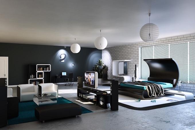 10 Schritte zum perfekten Schlafzimmer-Dekor!_futuristic schlafzimmer Schlafzimmer Ideen: 10 Schritte, zum perfekten Schlafzimmer-Dekor! 10 Schritte zum perfekten Schlafzimmer Dekor futuristic
