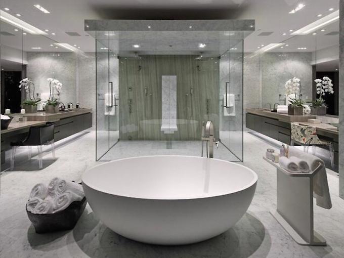 11 - Luxuriöse Badezimmergestaltung – Badezimmer Trends  Luxuriöse Badezimmergestaltung – Badezimmer Trends 11 Luxurio  se Badezimmergestaltung     Badezimmer Trends