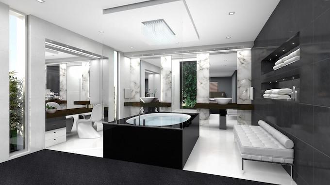 12 - Luxuriöse Badezimmergestaltung – Badezimmer Trends  Luxuriöse Badezimmergestaltung – Badezimmer Trends 12 Luxurio  se Badezimmergestaltung     Badezimmer Trends