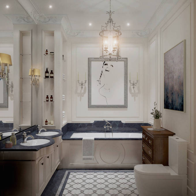 16 - Luxuriöse Badezimmergestaltung – Badezimmer Trends  Luxuriöse Badezimmergestaltung – Badezimmer Trends 16 Luxurio  se Badezimmergestaltung     Badezimmer Trends