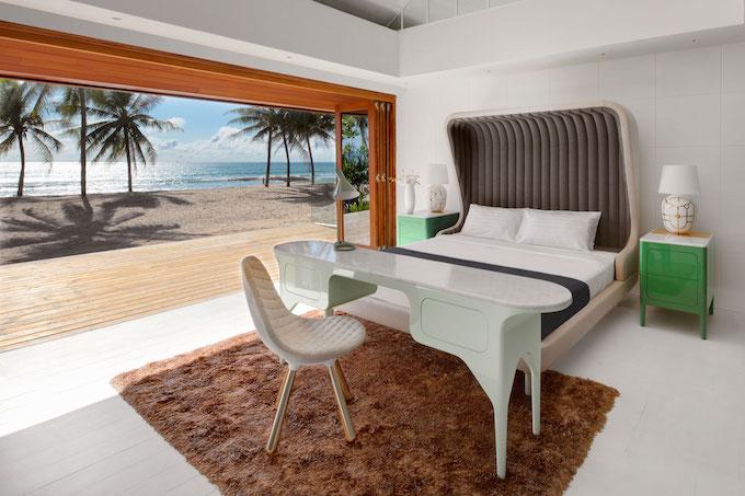 Luxus-Zimmer dekorieren - Bett- und Dekor-Trends für diesen Sommer_10 luxus-zimmer Luxus-Zimmer dekorieren - Bett- und Dekor-Trends für diesen Sommer Luxus Zimmer dekorieren Bett und Dekor Trends fu  r diesen Sommer 10