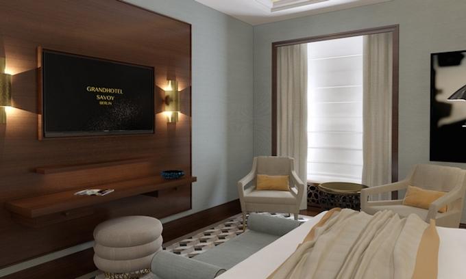 DIE BESTEN DESIGN INSPIRATIONEN VON PARIS 56_Grandhotel-Savoy-Berlin2 Wohnen mit Klassikern teilt erstaunliche klassische moderne Wohnideen, Mid Century Inspirationen, Minimalismus Design, zeitgenössiges Design und eklektische Inspirationen. So wie High-end Möbel Inspirationen wie Samt Sesseln, Holz Esstische, Samt Sofas, Messing Beistelltisch und Messing Couchtische. paris 56 DIE BESTEN DESIGN INSPIRATIONEN VON PARIS 56 DIE BESTEN DESIGN INSPIRATIONEN VON PARIS 56 Grandhotel Savoy Berlin2