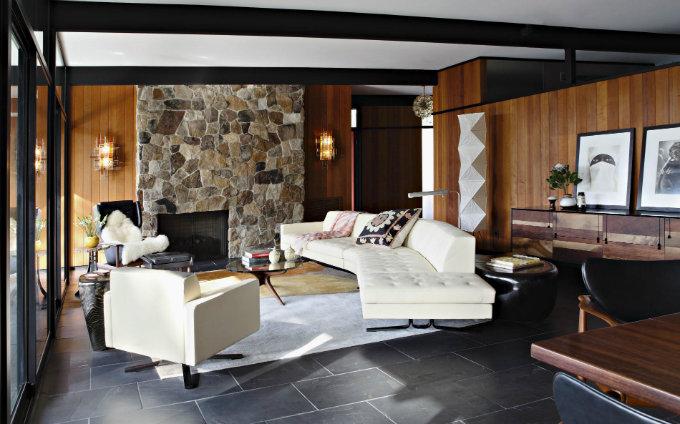 Ein mid-century Traumhaus traumhaus Ein Mid-Century Traumhaus von Architekt David Shelley La Ca  ada Mid Century 02
