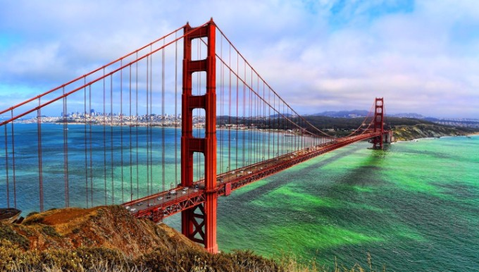 15 Gründe warum Sie CA besuchen müssen! california 15 Gründe warum Sie California besuchen müssen! Golden Gate Bridge 7