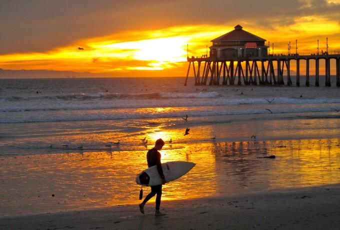 15 Gründe warum Sie CA besuchen müssen! california 15 Gründe warum Sie California besuchen müssen! Huntington Beach Surfer