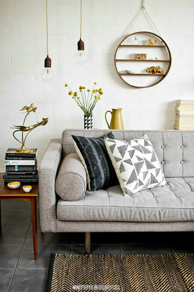So dekorieren Sie Ihr Haus im Retro Stil retro stil So dekorieren Sie Ihr Haus im Retro Stil living rooms with golden details 3