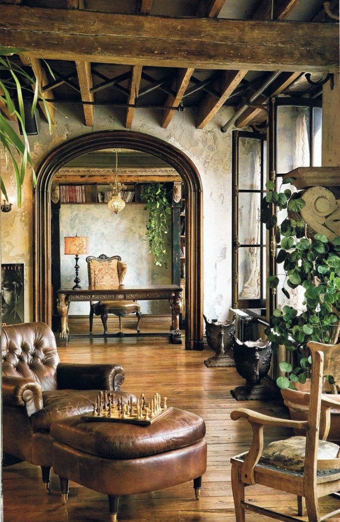 006-modern-rustic-interiors rustikal stil Wie ein Landhaus - Gestalten Sie Ihre Wohnräume mit den Rustikal Stil 006 modern rustic interiors