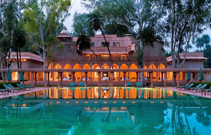 amanbagh-resort-in-india-5 luxus resorte Top 10 Luxus Resorte für den perfekten Urlaub Amanbagh Resort in India 5