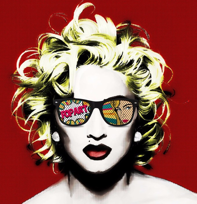 pop_art_madonna_by_autotunebaby-d94xotc pop art Die Pop Art und sein Design pop art madonna by autotunebaby d94xotc