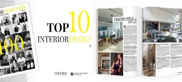 interior designers Top 100 Interior designers von Coveted & Boca De Lobo capapa 600x270