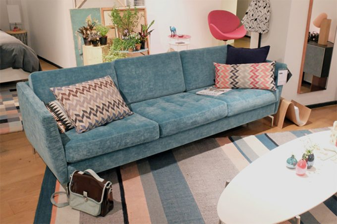 OSAKA Blue Samt Sofa Wohnzimmer Trends 2017: Samt Sofas Wohnzimmer Trends  2017 Wohnzimmer Trends 2017: Samt Sofas 2015