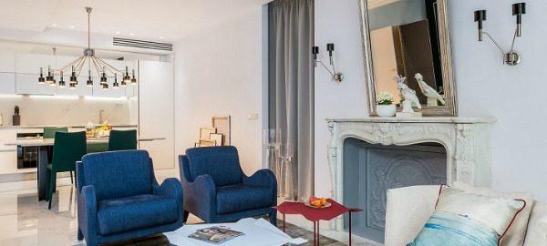 modernen und eklektischen stil Paris Wohnung Belle Novelle in einem modernen und eklektischen Stil capa 600x270