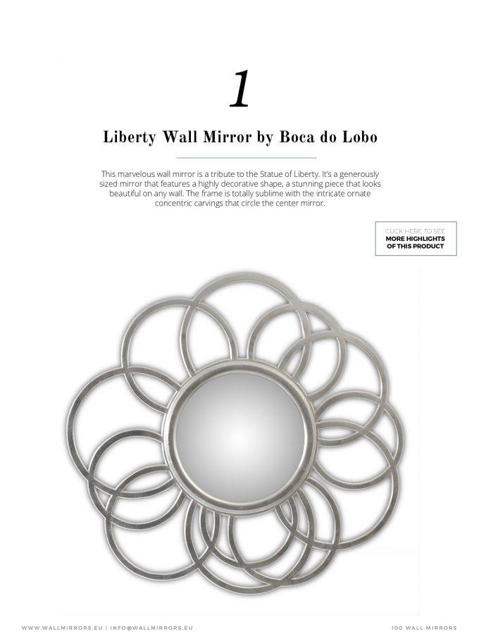 Entdecken Sie Fantastische Wandspiegel für das beste WohnDesign wandspiegel Entdecken Sie Fantastische Wandspiegel für das beste WohnDesign 100 Must See Wall Mirrors For a Dazzling Interior 2 e1490863544814