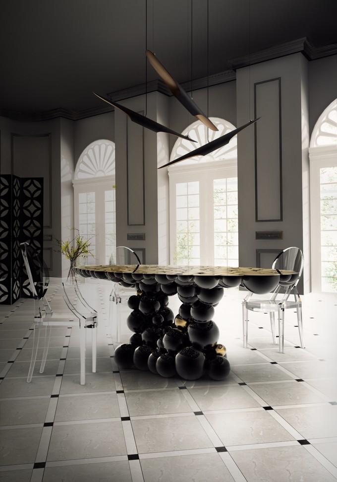 Luxuriöse Esszimmer für den Herbst, Herbst design, Herbst Inpirationen, Herbst/winter herbst 2017 Herbst 2017: Luxuriöse  Esszimmer für den Herbst BL Dining Room 5