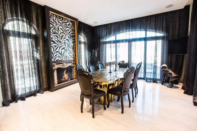 esszimmer Wohndesign-Ideen für den Herbst: Wie Sie Ihres Esszimmer diesen Herbst gestalten kann B Fortuna dining table Boca do Lobo interior design Saadiyat UAE Archi living resize