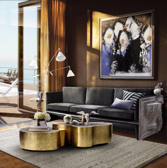 25 Messing Couchtische für den Herbst 2017 herbst 2017 Herbst 2017: Luxuriöse Wohnzimmer für den Herbst DL Living Room 35