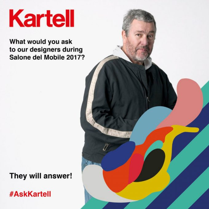 Isaloni 2017 Kartells Tribut an Componentis 50. Jubiläum isaloni 2017 iSaloni 2017 Kartells Tribut an Componentis 50. Jubiläum Philippe Starck and Kartell Isaloni 2017 e1491820320746