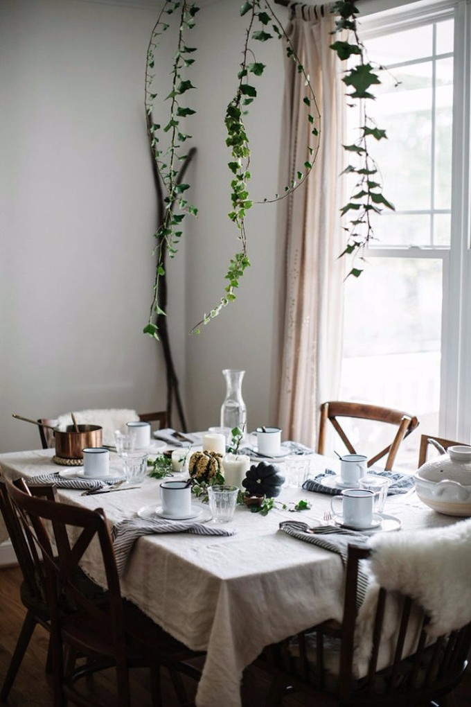 esszimmer Wohndesign-Ideen für den Herbst: Wie Sie Ihres Esszimmer diesen Herbst gestalten kann cobreyplantas