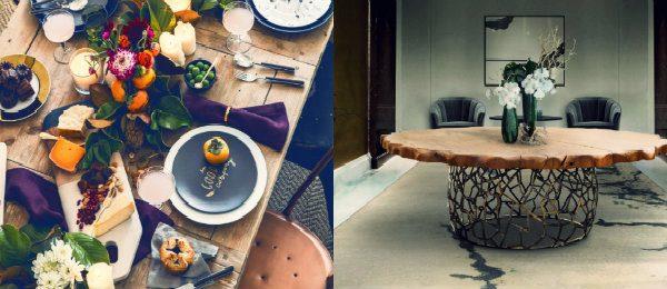 esszimmer Wohndesign-Ideen für den Herbst: Wie Sie Ihres Esszimmer diesen Herbst gestalten kann collage 2 600x260