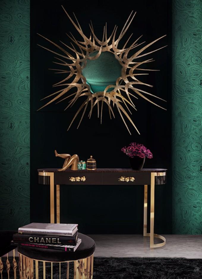 teuerste möbeldesign Die teuerste Möbeldesign Firmen der Welt guilt mirror orchidea console mandy stool koket projects 1