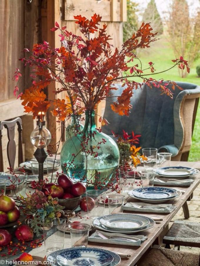 esszimmer Wohndesign-Ideen für den Herbst: Wie Sie Ihres Esszimmer diesen Herbst gestalten kann image