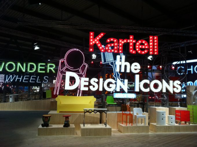 Isaloni 2017 Kartells Tribut an Componentis 50. Jubiläum isaloni 2017 iSaloni 2017 Kartells Tribut an Componentis 50. Jubiläum kartell stand isaloni e1491820230657