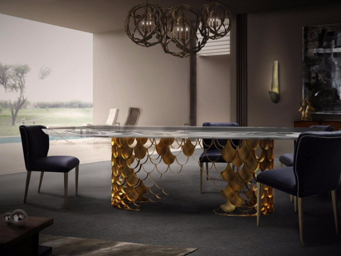 esszimmer Wohndesign-Ideen für den Herbst: Wie Sie Ihres Esszimmer diesen Herbst gestalten kann koi dining table ii ambience b