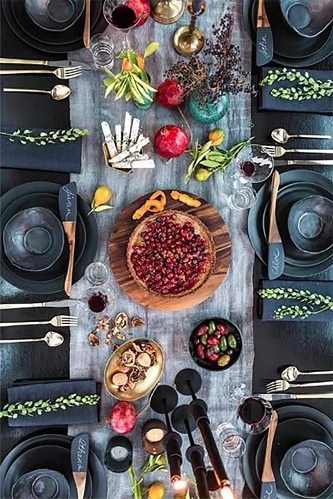 esszimmer Wohndesign-Ideen für den Herbst: Wie Sie Ihres Esszimmer diesen Herbst gestalten kann mesa veraniega diseno yosiquese