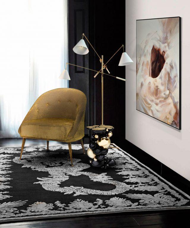 5 erstaunliche samt st hle f r kleine wohnzimmer wohnen mit klassikern. Black Bedroom Furniture Sets. Home Design Ideas