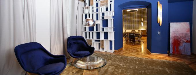 innenarchitektur Beste Innenarchitektur Projekte : Das vornehme Büro von Home Interiors feature 1